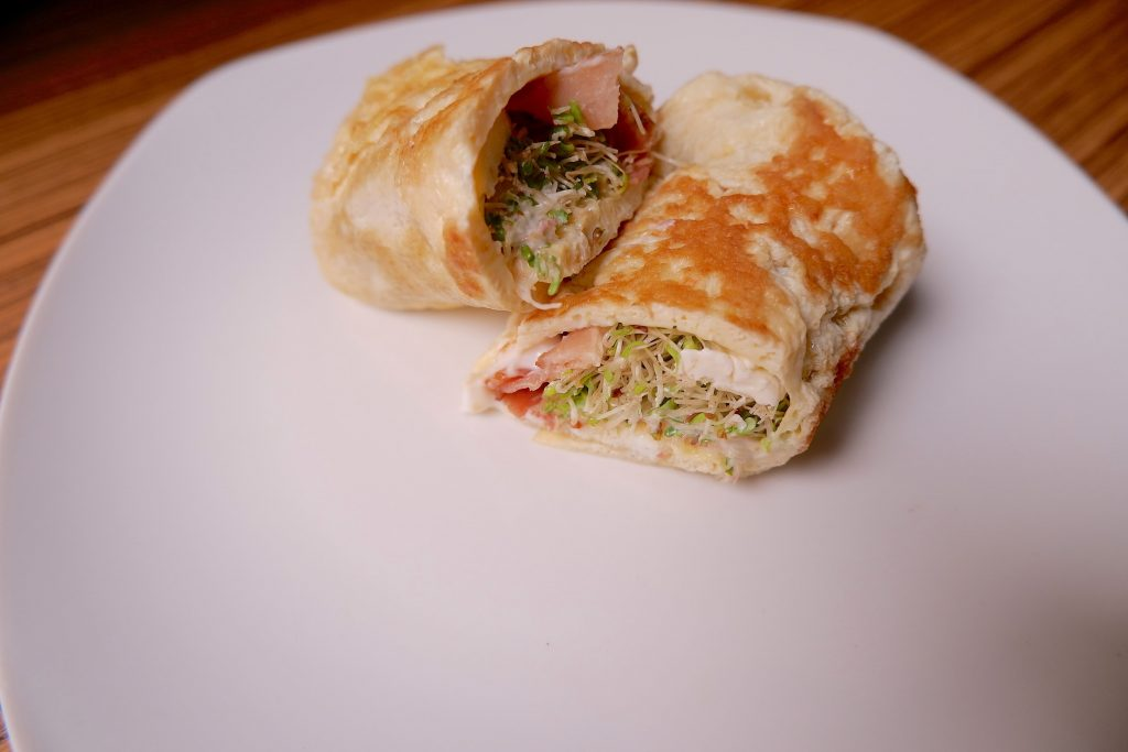 keto breakfast crepe
