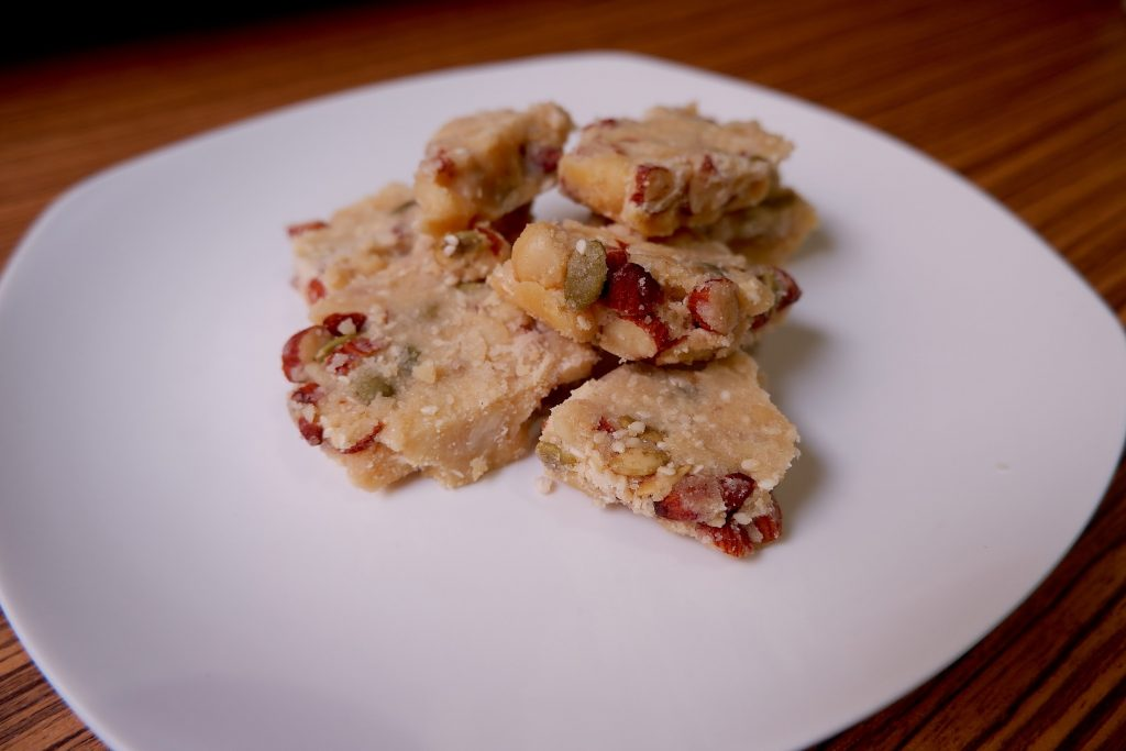 keto nut and seed brittle