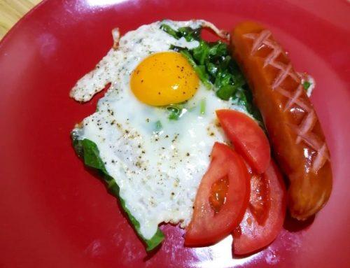 Keto Egg Chard Breakfast