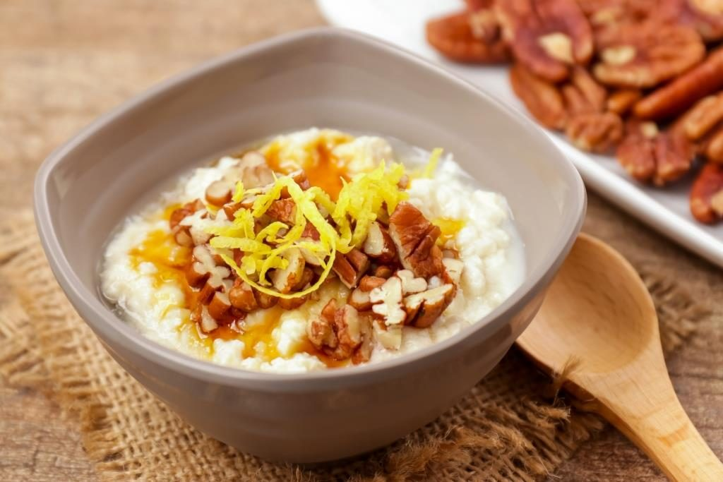 Maple & Pecan Cottage Cheees Bowls