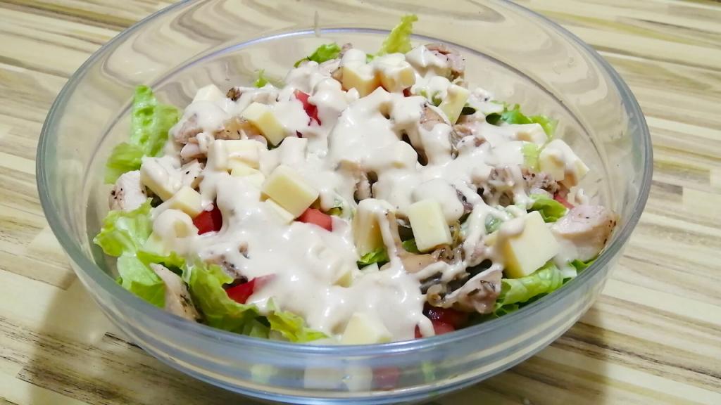 simple keto chicken salad